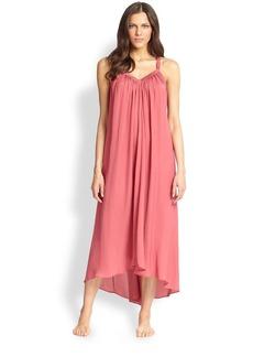 Donna Karan Silk Crepe Gown