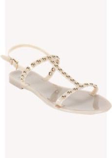Givenchy Studded Rubber Flat Sandal
