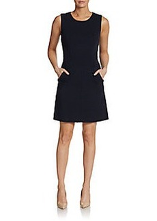 Diane von Furstenberg Capreena Mini A-Line Dress