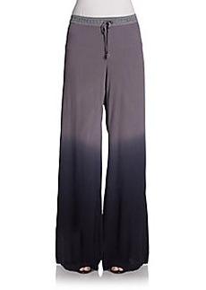 Saks Fifth Avenue BLUE Windy Wide-Leg Pants