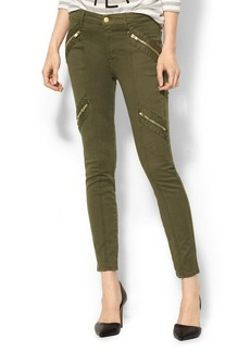 7 For All Mankind Panel Zip Moto Pant