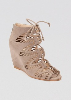 Dolce Vita Open Toe Wedge Sandals - Shandy
