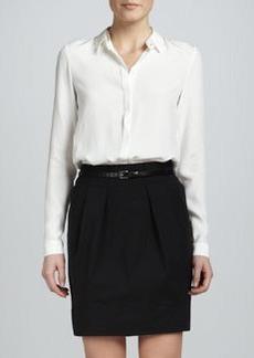 Lafayette 148 New York Alaina Pleated Skirt