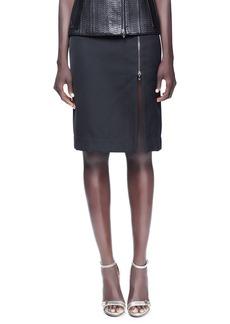 Lanvin Pencil Skirt, Black