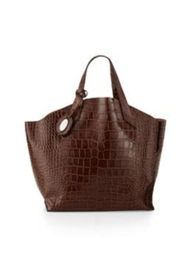 furla furla jucca medium tote bag chocolate handbags shop it to me. Black Bedroom Furniture Sets. Home Design Ideas