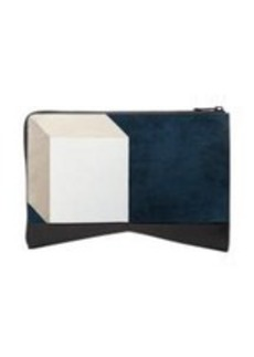 Narciso Rodriguez Coloblock Folio Clutch