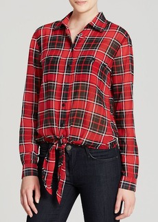 MICHAEL Michael Kors Plaid Button Down Shirt
