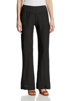 Three Dots Women's Wide-Leg Linen Pant