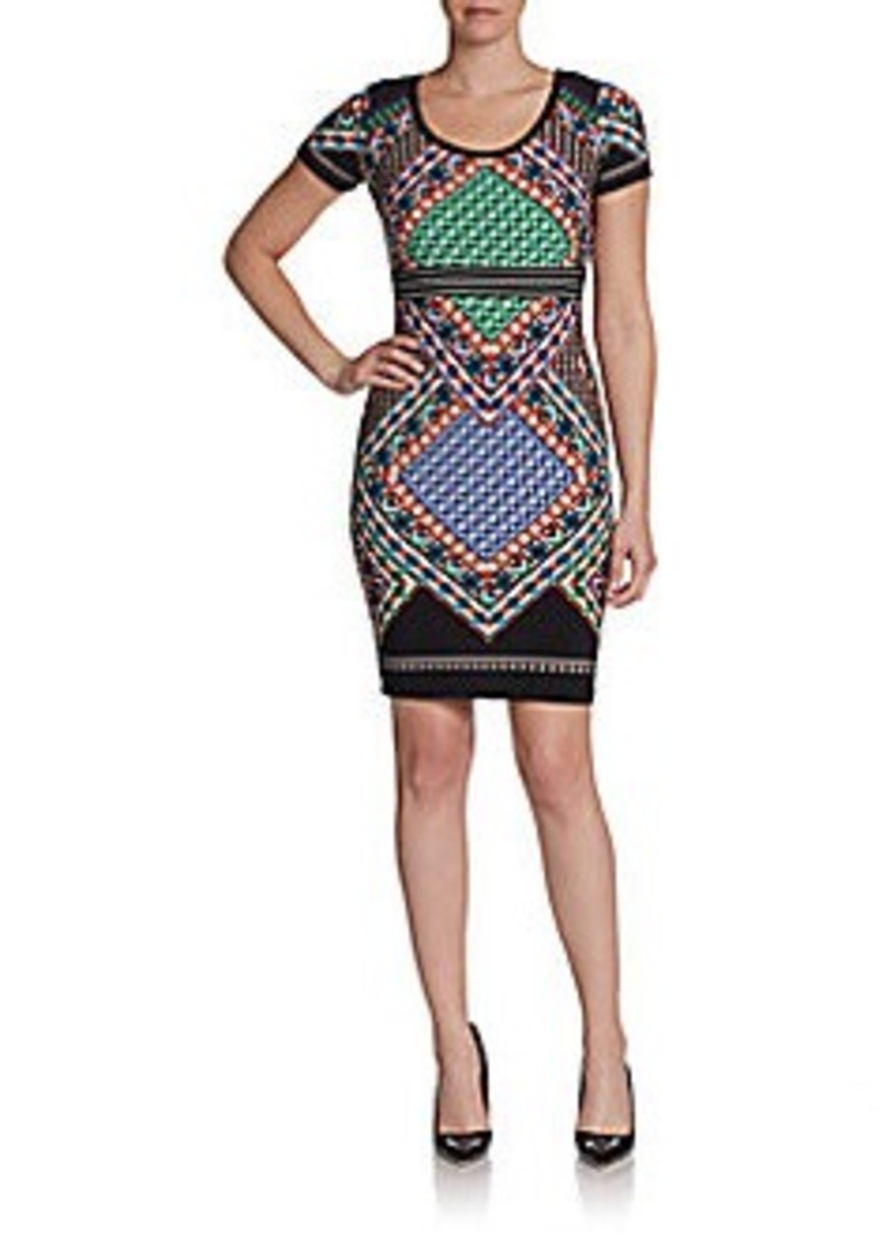 Calvin Klein Printed Jersey Dress