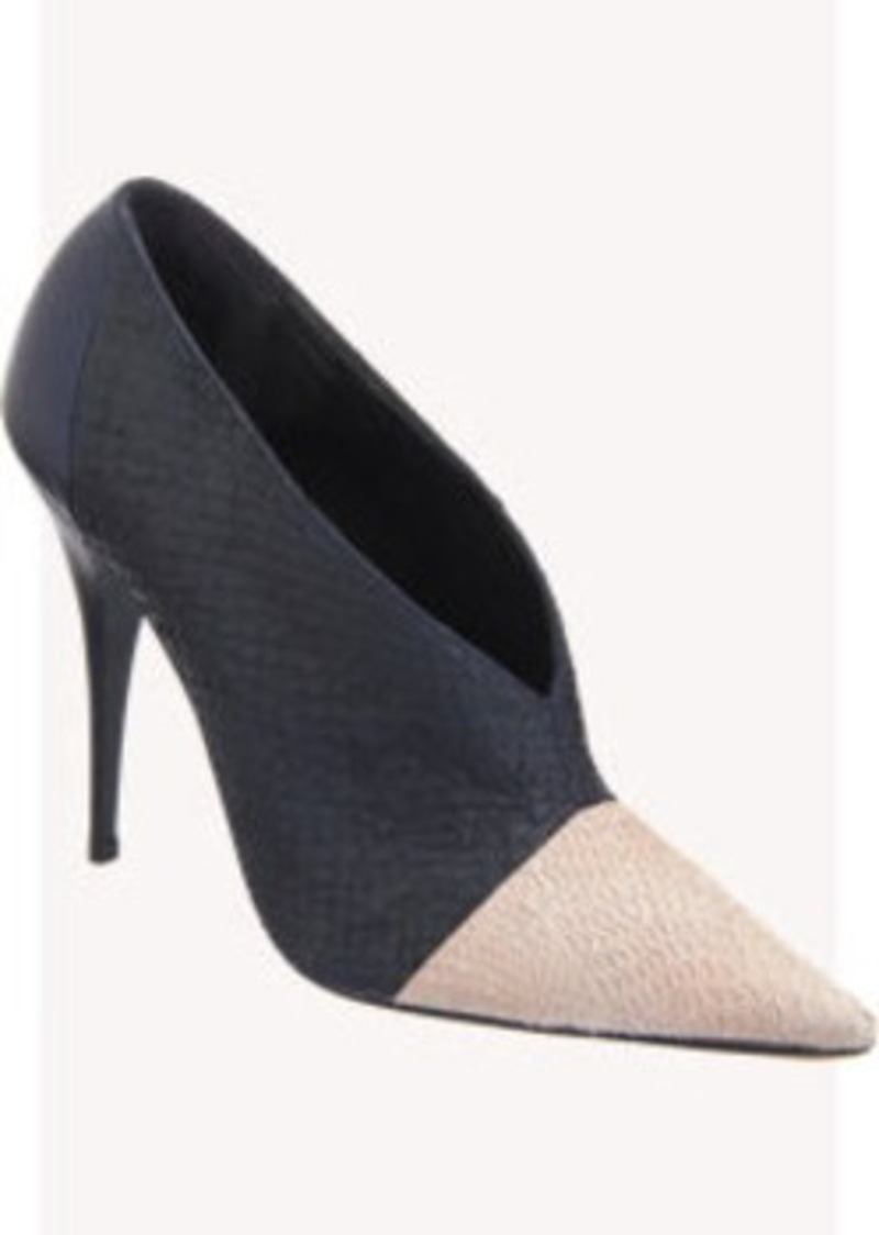 Narciso Rodriguez Salmon Skin High Throat Pump