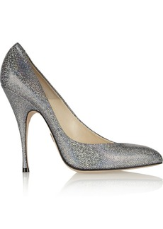 Brian Atwood Nico holographic nubuck pumps