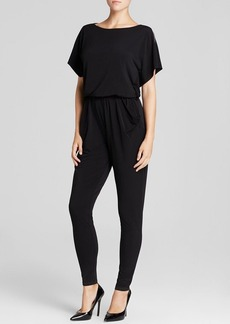 MICHAEL Michael Kors Zip Shoulder Jumpsuit