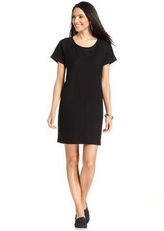 Style&co. Sport Petite Sweatshirt Dress