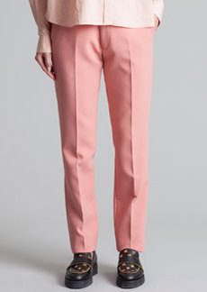 Marni Straight-Leg Trousers, Pink Sand