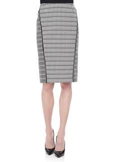Lafayette 148 New York Ariella Art Deco Skirt