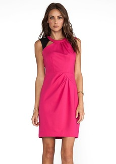 Nanette Lepore Asteroid Ponte Dress in Pink
