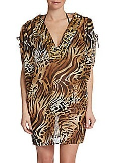Natori Printed Coccoon Cover-Up