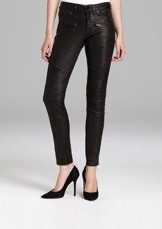 Hudson Jeans - Shelby Moto Super Skinny Leather
