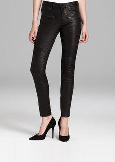 Hudson Jeans - Shelby Moto Super Skinny Leather