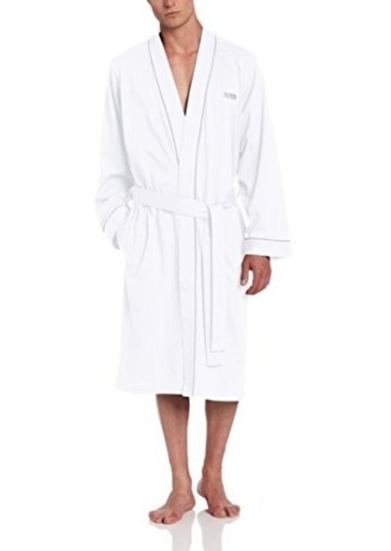 hugo boss boss hugo boss men 39 s cotton kimono robe. Black Bedroom Furniture Sets. Home Design Ideas
