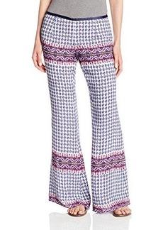 Dolce Vita Women's Cybelle Silk Printed Wide Leg Pant