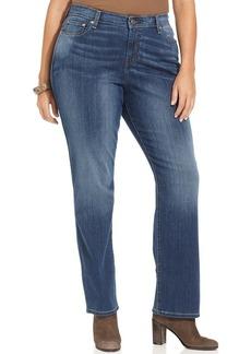 Levi's® Plus Size 580 Curvy Defined Waist Straight-Leg Jeans, Rich Sunset Wash