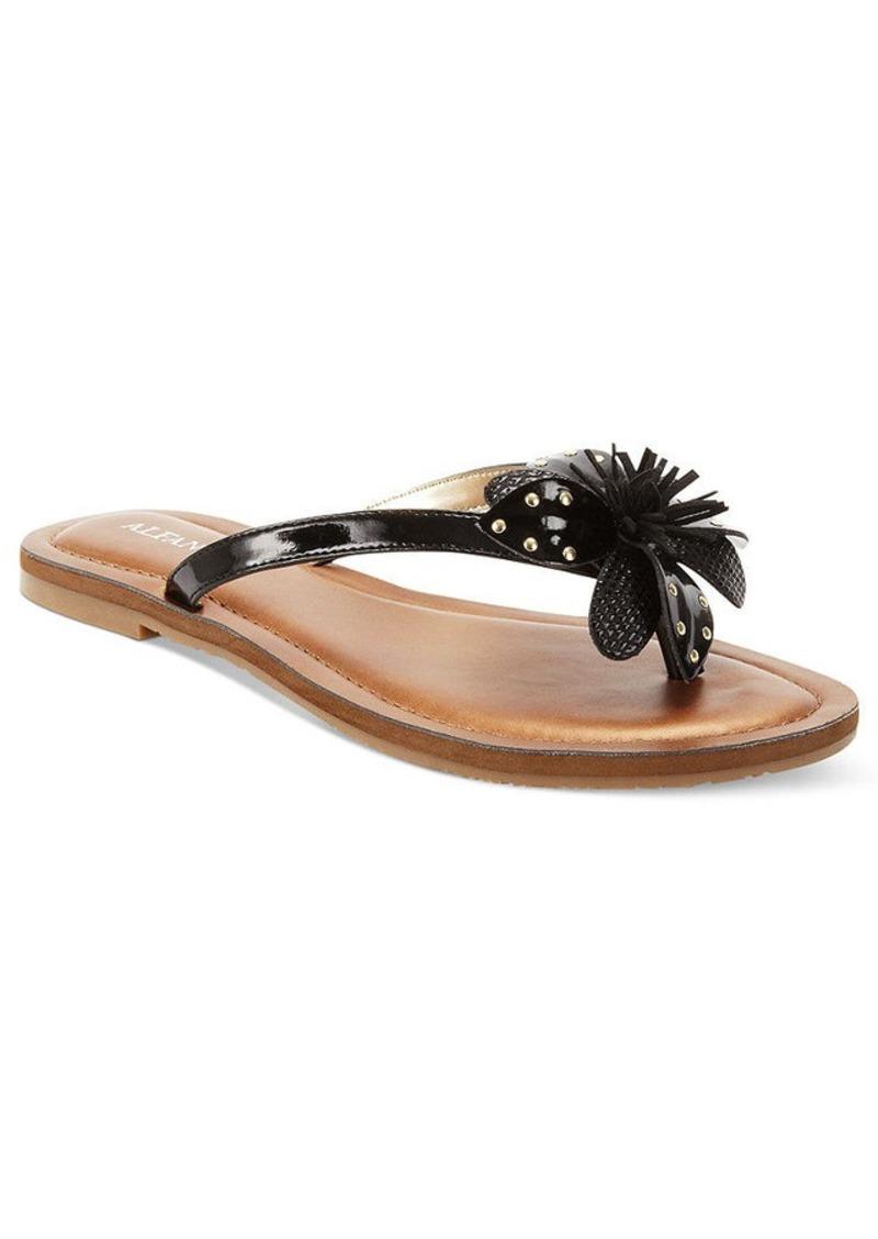 Alfani Women's Sweetie Flower Thong Sandals