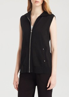Kenneth Cole New York Megan Double Zip Vest