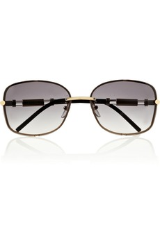 Givenchy Square-frame metal sunglasses