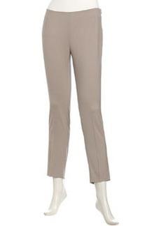 Lafayette 148 New York Stanton Wool Pants, Driftwood