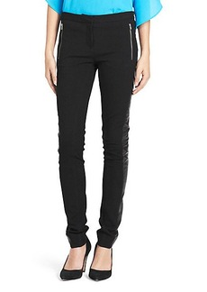 Leah Leather Detail Pant