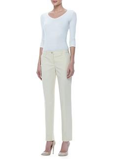 Michael Kors Samantha Slim Cotton Pants