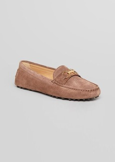 Salvatore Ferragamo Driving Moccasin Flats - Saba Loafer