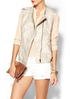 Twelfth Street By Cynthia Vincent Zip Front Vest