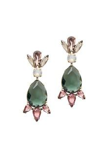 Spiked drop earrings