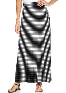 Style&co. Petite Striped Maxi Skirt