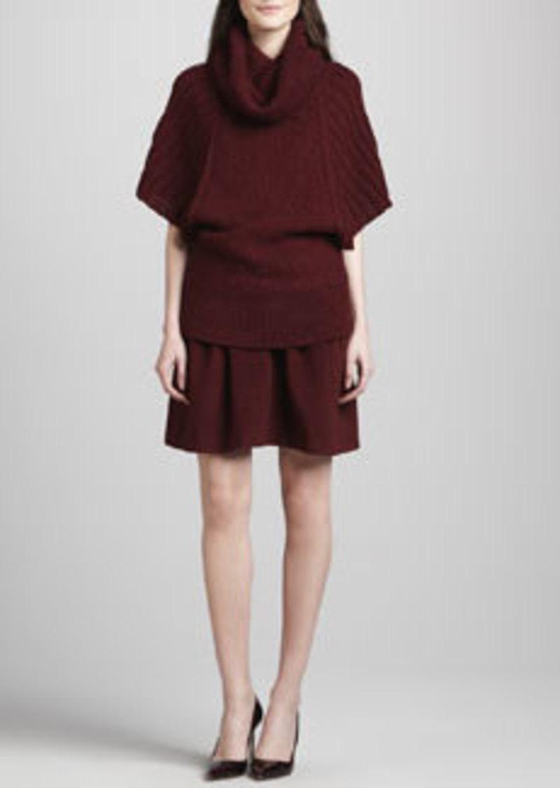 Antigone Pleated Felt Skirt   Antigone Pleated Felt Skirt