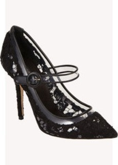 Dolce & Gabbana Lace Mary Jane Pump