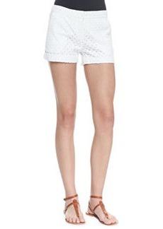 Joie Marci Lace Eyelet Shorts