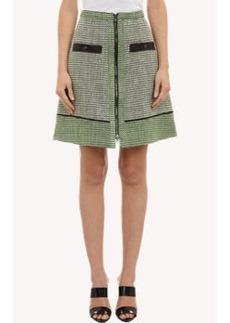 Proenza Schouler A-line Tweed Skirt