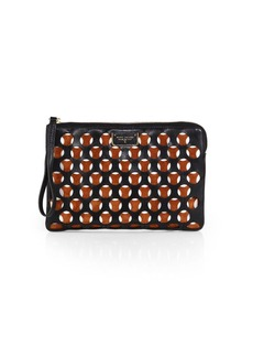 Marc Jacobs Perforated Flat Zip Pouch