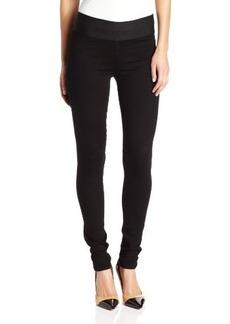 Paige Denim Women's Glam Rock Jean In Black Overdye