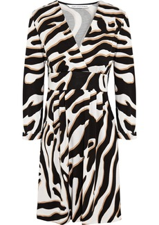 Diane von Furstenberg Mavis printed silk-jersey mini dress