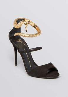 Giuseppe Zanotti Peep Toe Sandals - Coline Ankle Bracelet High Heel