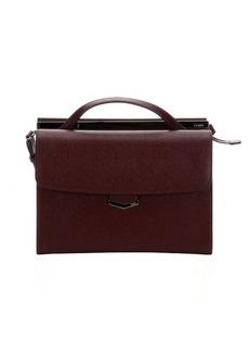 Fendi bordeaux leather 'Demi Jour' Split Shoulder Bag