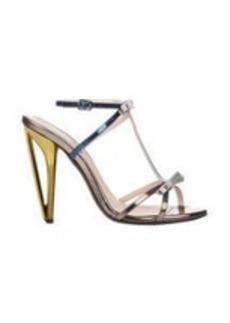 Fendi Bow-Embellished Iridia T-strap Sandals