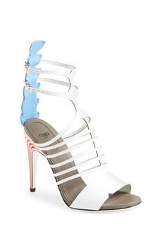 Fendi Cage Ankle Strap Sandal (Women)