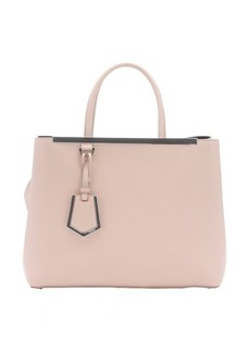 Fendi cipria leather '2Jours' convertible tote bag