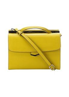Fendi citron leather 'Demi Jour' Split Shoulder Bag