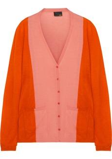 Fendi Color-block cashmere cardigan